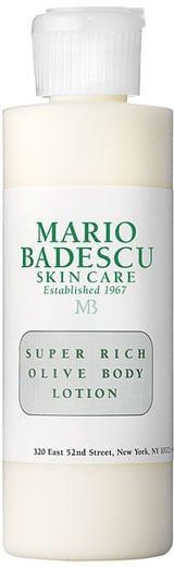 Not only is Mario Badescu Super Rich Olive Body Lotion ($10) quick-absorbing and superhydrating, but it's also chock-full of olive oil, which has antioxidant benefits.