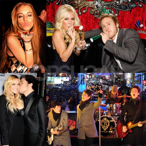 Check Out the Stars' NYE Fun!