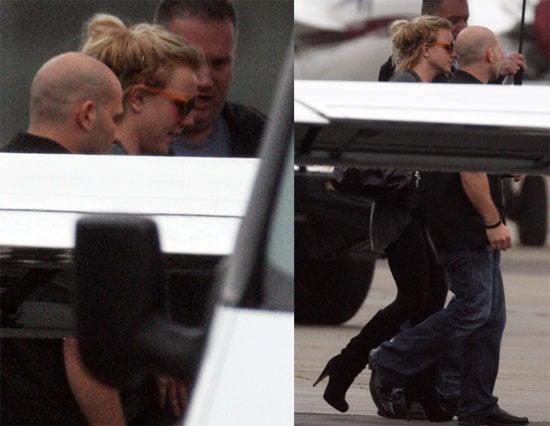 Photos of Britney Spears in Australia 2009-11-03 17:00:00