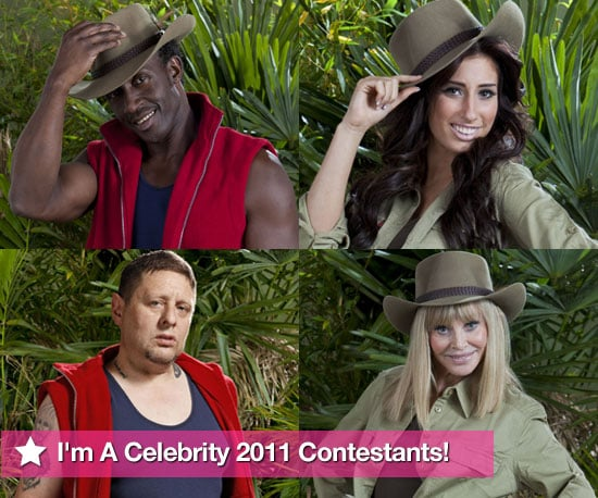 Pictures of I'm A Celebrity 2010 Contestants Including Shaun Ryder, Stacey Solomon, Linford Christie, Britt Ekland
