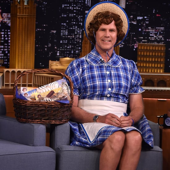 Will Ferrell Dressed as Little Debbie on The Tonight Show