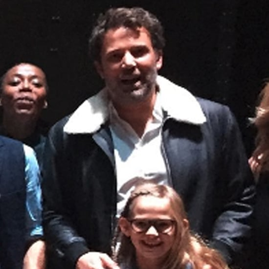 Ben Affleck and Daughter Violet at Harry Potter Play 2016