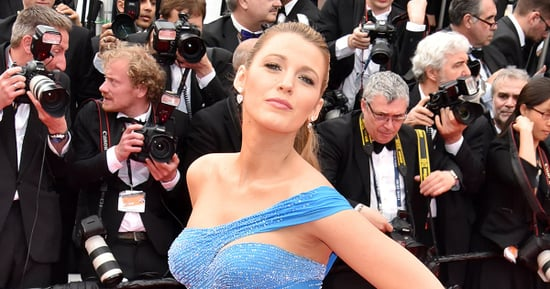 Pregnant Blake Lively Jokes That Her Cannes Fashion Was Inspired By a Disney Villain, Not Princess