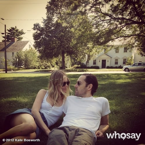 Kate Bosworth spent a romantic day in the park with her boyfriend, Michael Polish. Source: Kate Bosworth on WhoSay