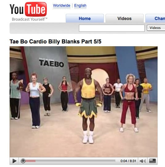 Fitness at Your Fingertips: Tae Bo on YouTube