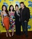 Selena Gomez, Rachel Korine, Ashley Benson, and James Franco hit the red carpet together for the SXSW premiere of Spring Breakers.