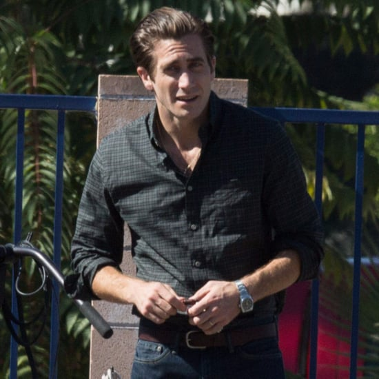 Jake Gyllenhaal on Nocturnal Animals Set