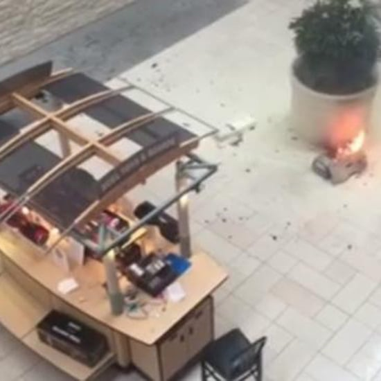 Hoverboard Explodes in Crowded Mall