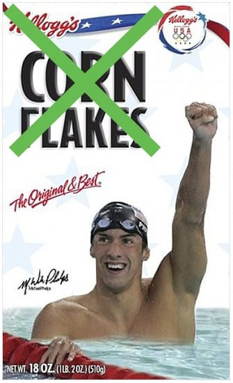 Phelps Supporters Boycott Kellogg's Products