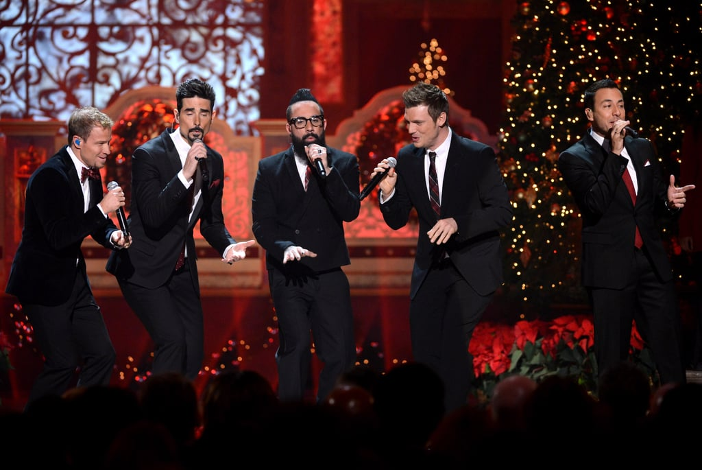 The Backstreet Boys also performed at the event.