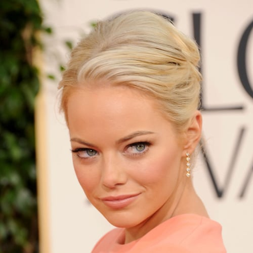 How to Get Emma Stone's Hair and Makeup Look From the 2011 Golden Globes