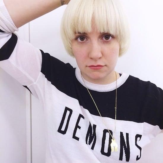 Lena Dunham Haircut 2014   Pictures