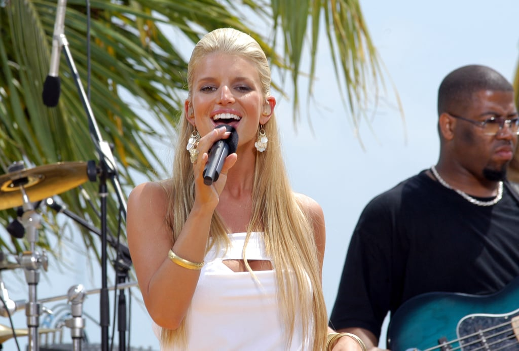 Back then, Jessica Simpson was known for her music.