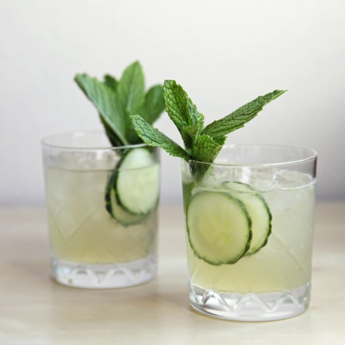 Cucumber-Mint Gin Cocktail