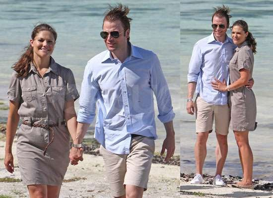 Pictures of Crown Princess Victoria and Daniel Westling Honeymoon in Tahiti After Wedding in Sweden