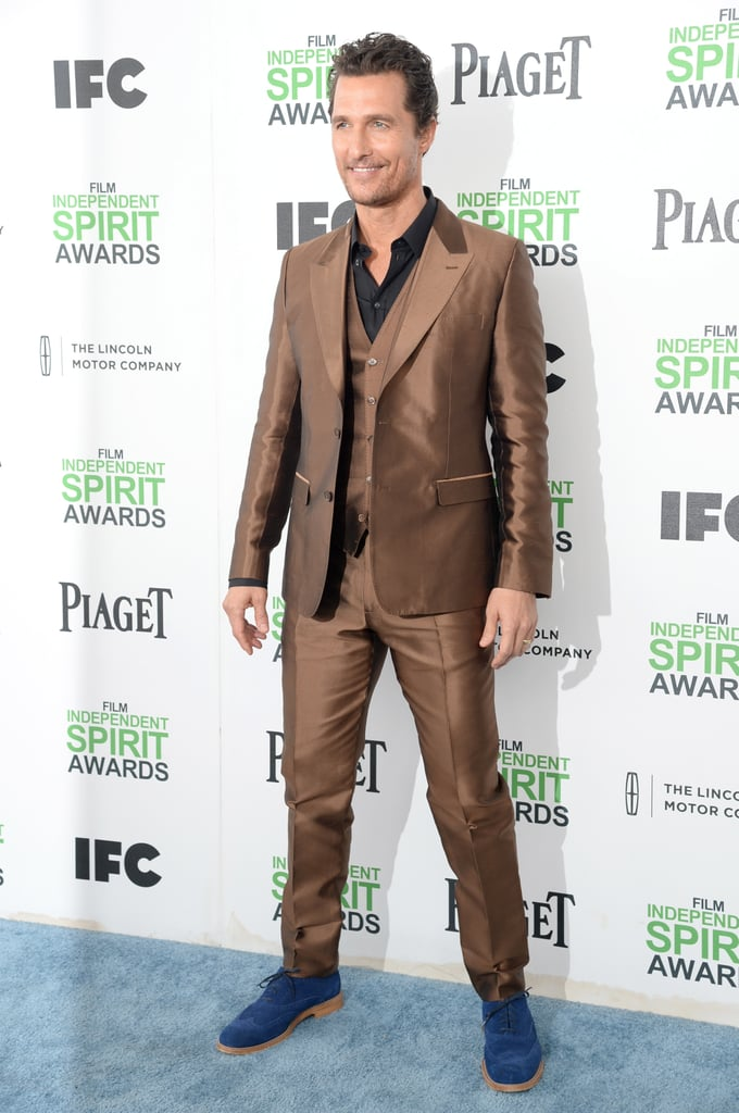 Matthew McConaughey at the Independent Spirit Awards