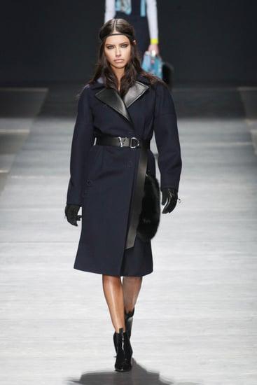 Adriana Lima at Fashion Week Fall 2016