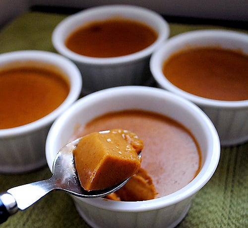 Vegan Pumpkin Custard