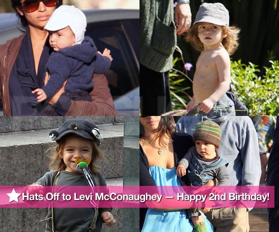 Pictures of Levi McConaughey For His Second Birthday
