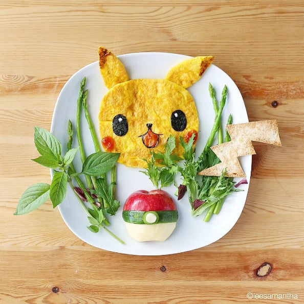 Kid Food Art Pictures Popsugar Moms