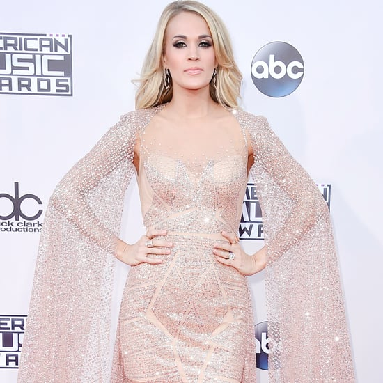 Carrie Underwood at the American Music Awards 2015