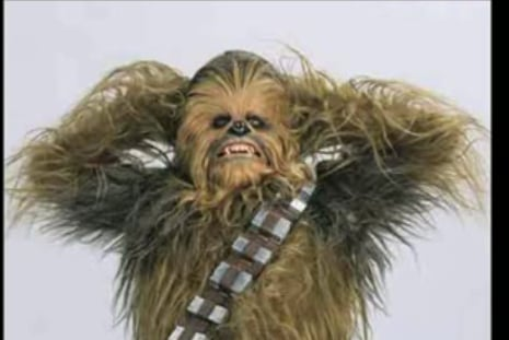 House Cleaning With Chewbacca
