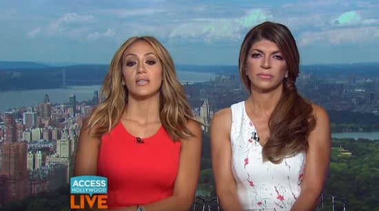 Watch: 'Real Housewives of New Jersey' Star Teresa Giudice Storms Out of Live TV Interview