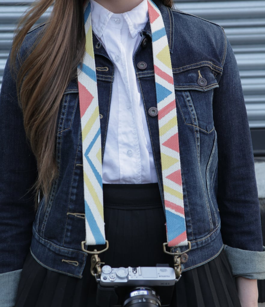 Painted Camera Straps