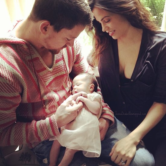 Channing Tatum and Jenna Dewan Daughter Everly Picture