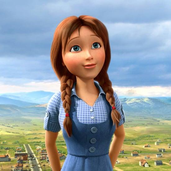 Lea Michele Legends of Oz Interview