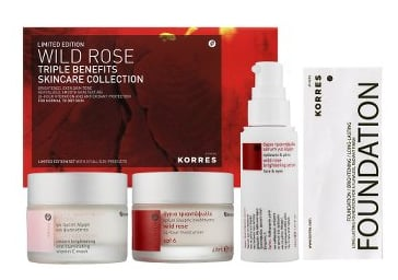 Sunday Giveaway! Korres Wild Rose Triple Benefits Skincare Collection