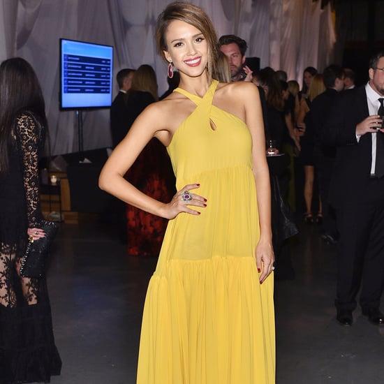 Jessica Alba Wears Giambattista Valli to Baby2Baby Gala