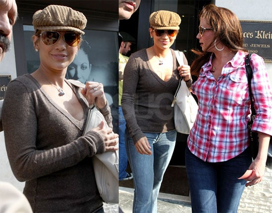Photos of Jennifer Lopez and Leah Remini in LA