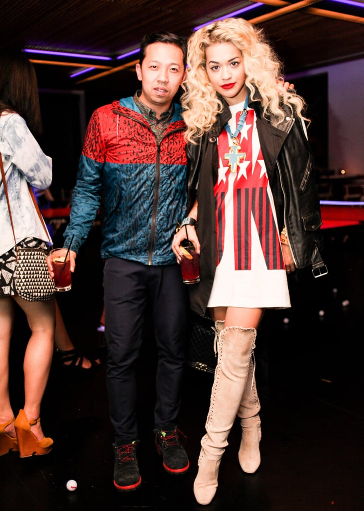 Humberto Leon and Rita Ora at Opening Ceremony and Adidas Original's Capsule Collection celebration in Los Angeles. Photo: BFAnyc.com