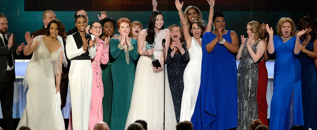 The Cast of Orange Is the New Black Has the Most Glamorous Night Out at the SAG Awards