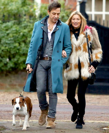 Celeb Sightings: Kate Moss Steps Out with Husband Jamie Hince