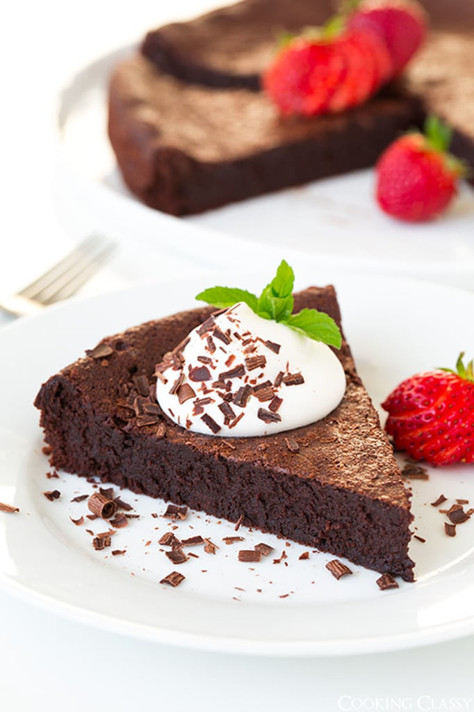 Flourless Chocolate-Cardamom Torte