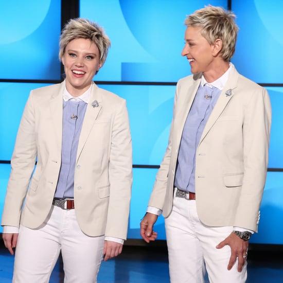 Kate McKinnon on The Ellen DeGeneres Show February 2016
