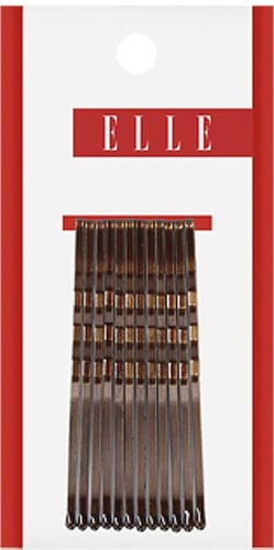 Elle Extra Long Curved Bobby Pins 12 Ct