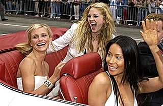 charlie's angels full throttle premier in L.A.