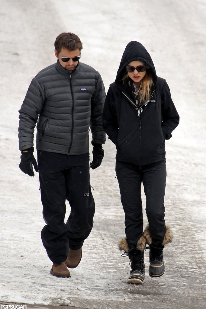 Kate Hudson and Matthew Bellamy Explore Snowy Aspen Together