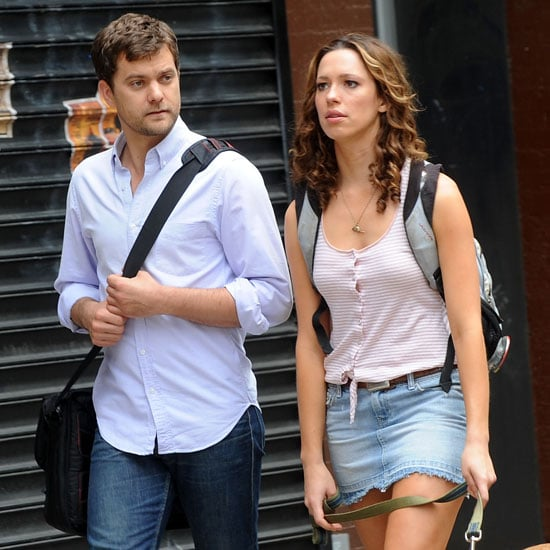 Pictures of Joshua Jackson and Rebecca Hall Filming Lay the Favorite
