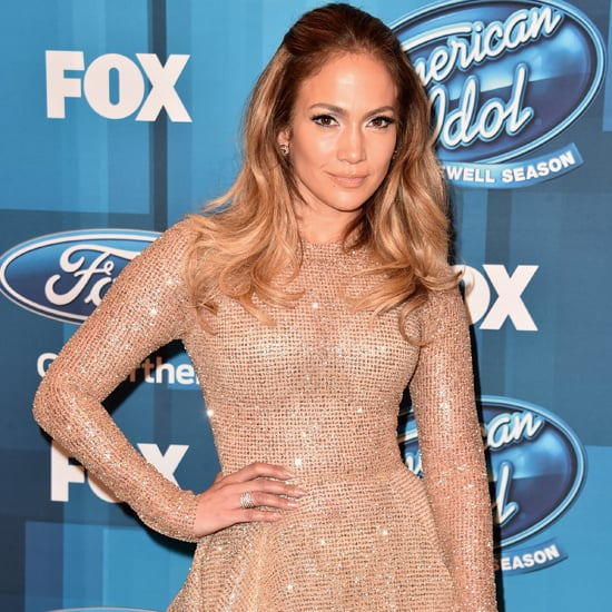 Jennifer Lopez's Gold Dress at American Idol Finale 2016