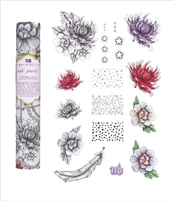 Review of Urban Decay's Body Jewelry Temporary Tattoos