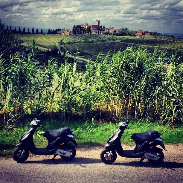 Ride a Vespa in Tuscany
