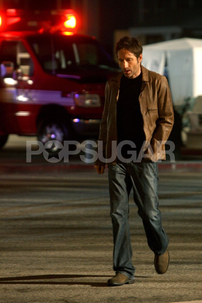 Pictures of David Duchovny