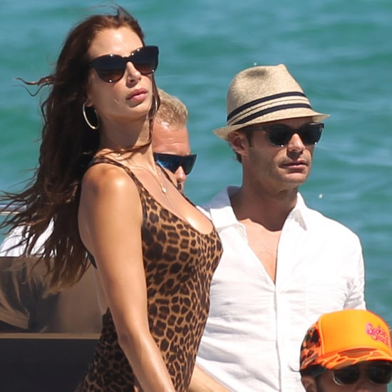 Ryan Seacrest With Dominique Piek on Vacation   Photos