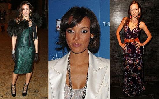 Photos of Sarah Jessica Parker, Selita Ebanks, and Olivia Wilde
