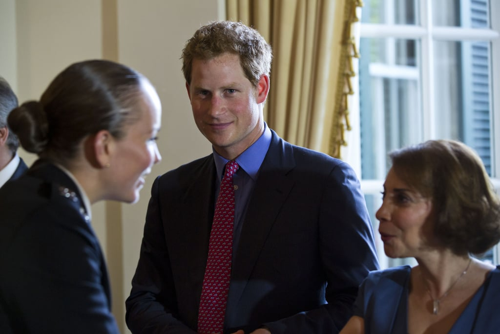 Prince Harry Thrills Washington Women and Politicians on Day 1 of His US Trip