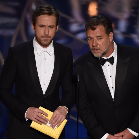 Ryan Gosling and Russell Crowe Presenting at the Oscars 2016